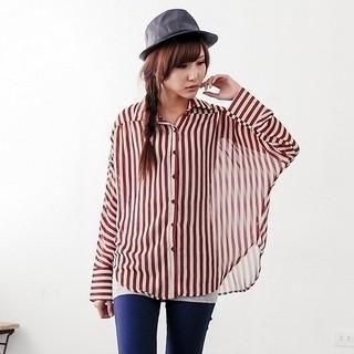 Baimomo set striped shirt tank top tops pinterest