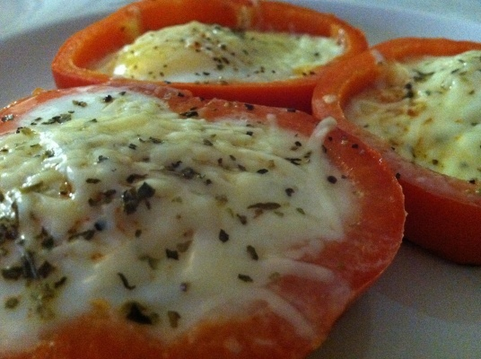 bell pepper eggs...mmmm | Recipes | Pinterest