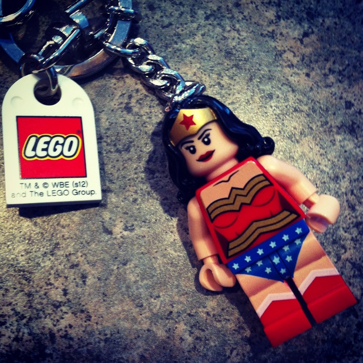 Lego Wonder Woman keychain    So beastlyWonder Woman Lego Costume