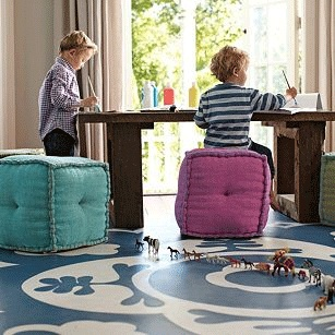 WishList Whipstich Poufs for C