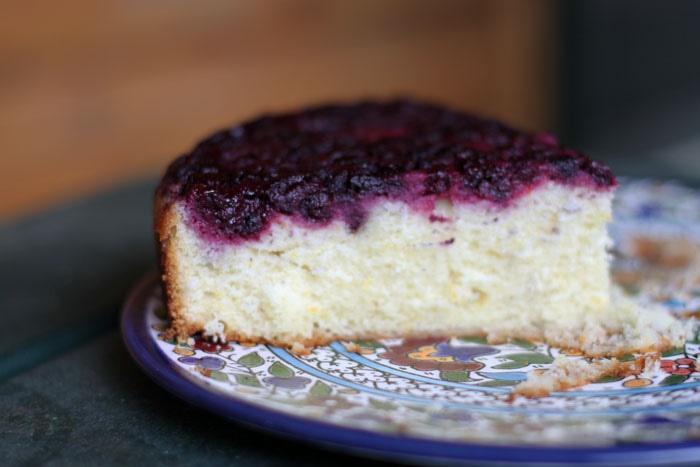Blackberry Buttermilk Cake Recipe — Dishmaps