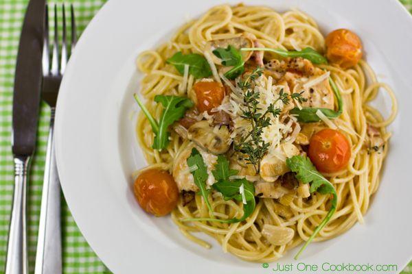 Chicken Scallopini with Lemon Butter Pasta | Recipe