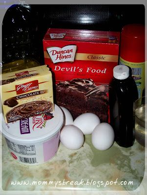 Mommy Needs A Break: SLOW COOKER BROWNIE PUDDING CAKE