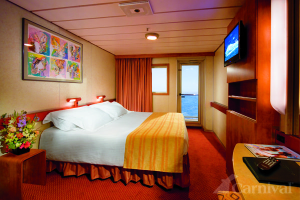 Carnival sensation balcony stateroom bahamas pic to for Balcony on carnival cruise