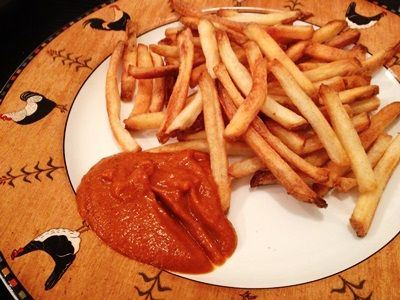 Curry ketchup | Food! | Pinterest