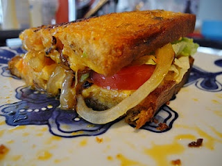 Animal style grilled cheese | grilled cheese | Pinterest