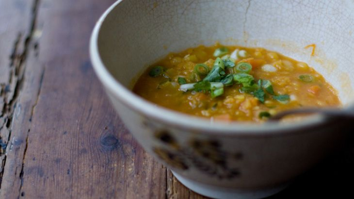 Coconut Red Lentil Soup II Recipe | Soups Stews and Chili | Pinterest