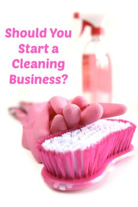 Questions to ask before starting a cleaning business #wahm #smallbusiness