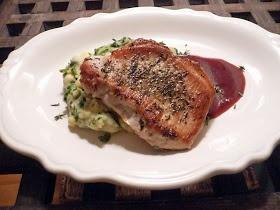 Life Tastes Good: Boneless Pork Loin Chops with Raspberry Sauce