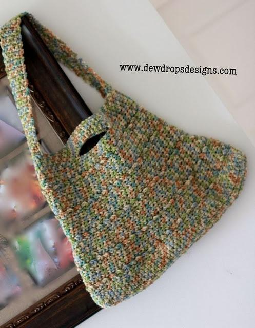 Shoulder Bag Crochet : Simple Shoulder Bag Crochet handbags Pinterest