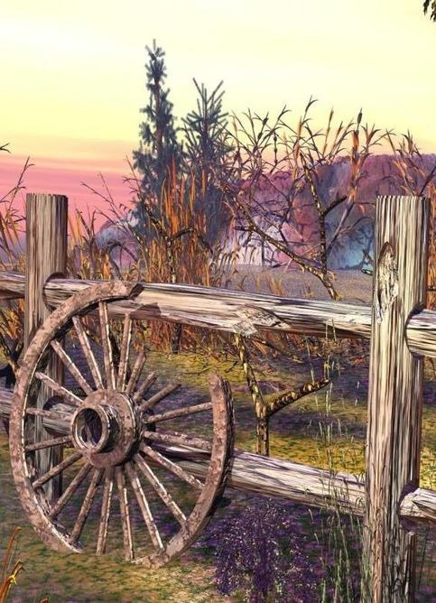 Old wagon wheel country girl pinterest for Things to do with old wagon wheels