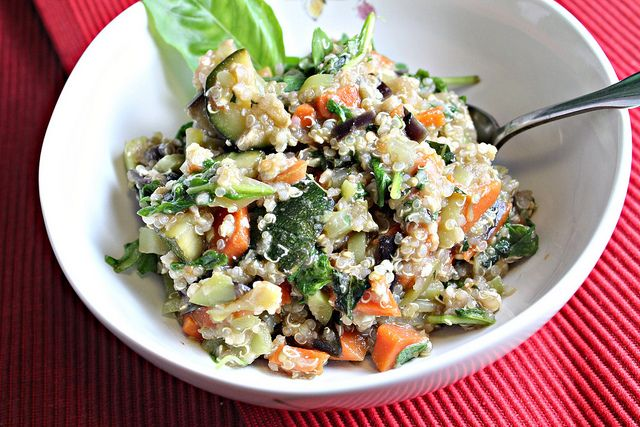Summer Vegetable Stir Fry with Quinoa | I have a kitchen because it c ...