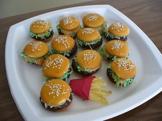 Cheeseburger in Paradise Cookies from