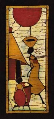 African tribal batik | Tribal art - Folk art - Native art - Primitive ...