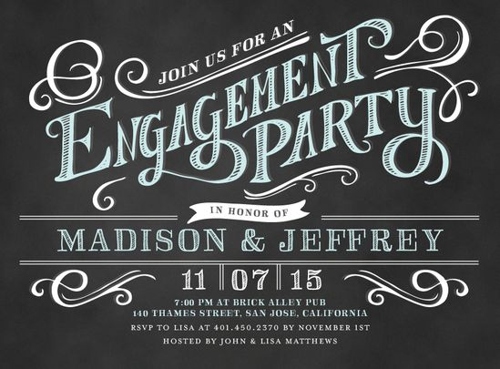 Black And White Party Invitation Wording is nice invitations layout