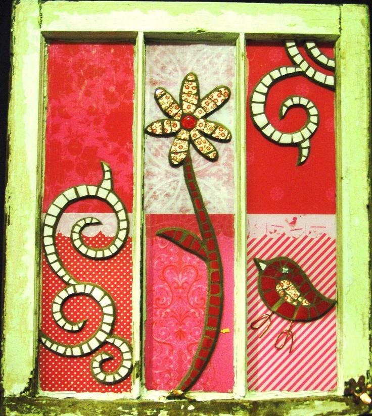 Curly Q Mosaics: WINDOWS GALLERY