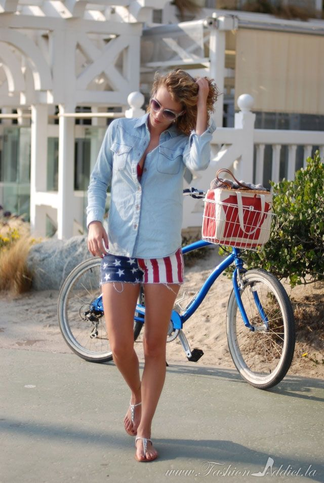 Style Challenge: Fourth of July Fashion #budhagirl #contest #pinittowinit