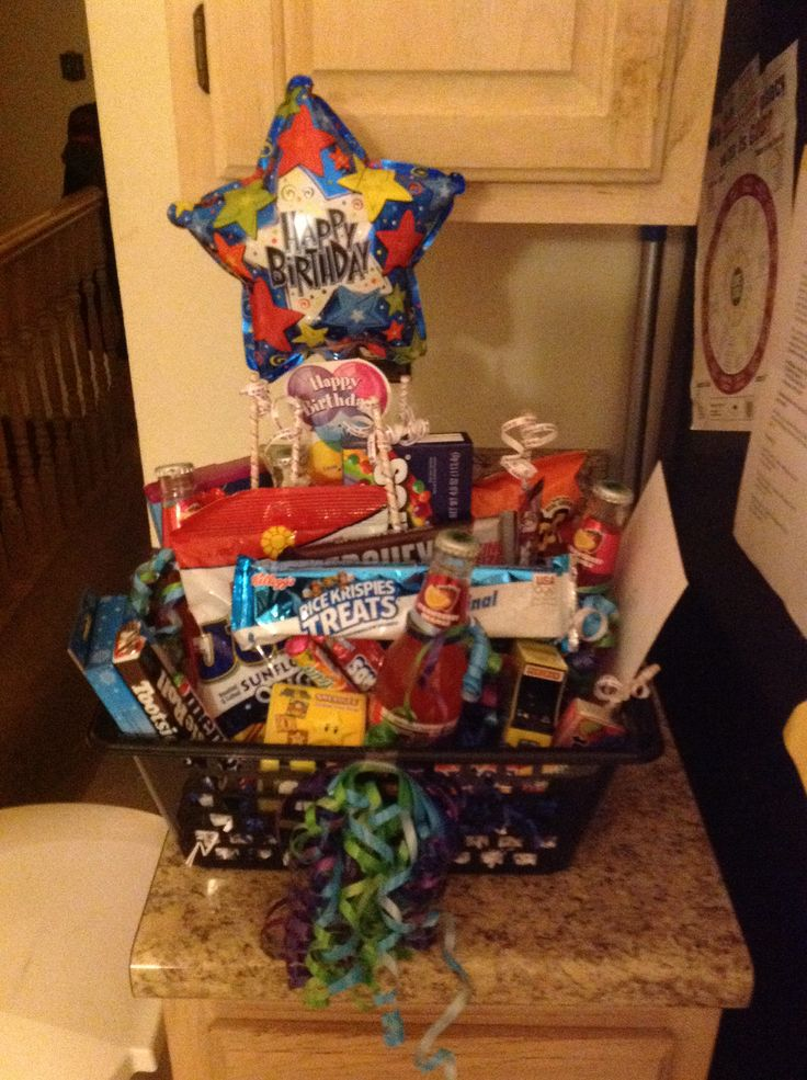 My First Preteen Young Man Gift Basket Gift Ideas