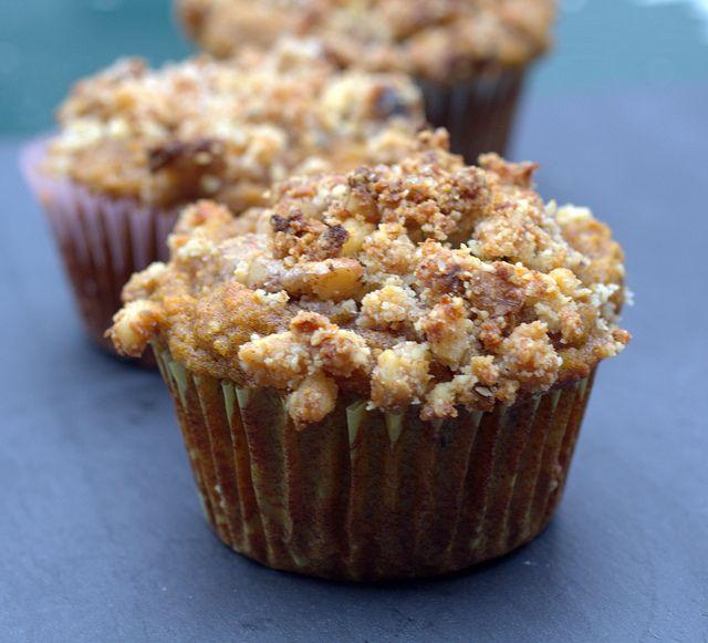 Gluten and Dairy Free Pumpkin Streusel Muffings | Healthy Food ...