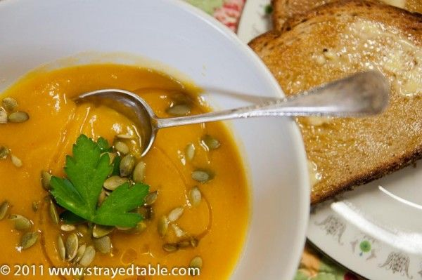 Spicy Pumpkin Soup | Lunch & Dinner | Pinterest
