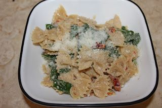 ... : Pasta With Mascarpone, Chicken, Sun-Dried Tomatoes & Spinach