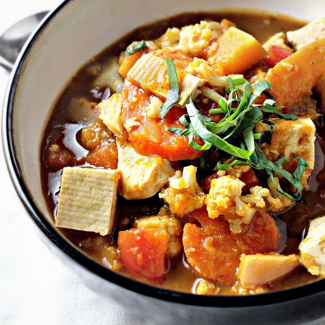 Thai Panang Vegetable & Tofu Curry