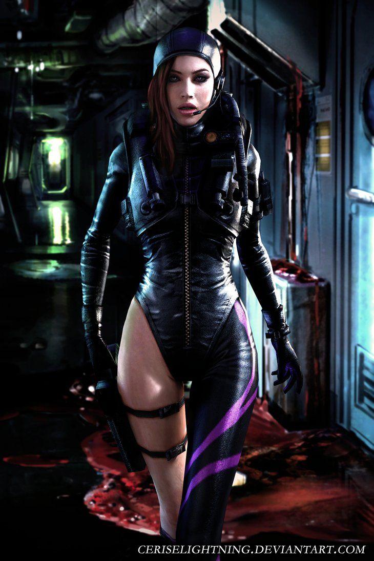 Jill valentine cosplay topless nude comics