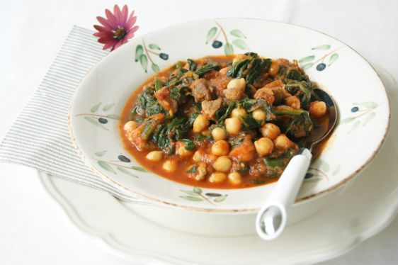 chickpea and spinach burgers spanish spinach and chickpea stew ...