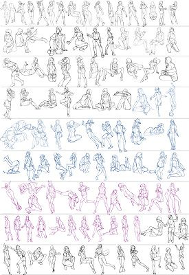how to draw anime body angles