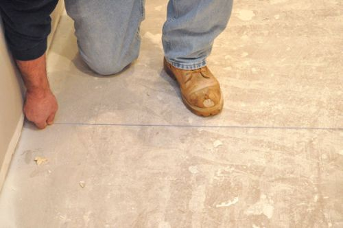 Prepare Basement Floors For Tiles Household Renovations Pinterest