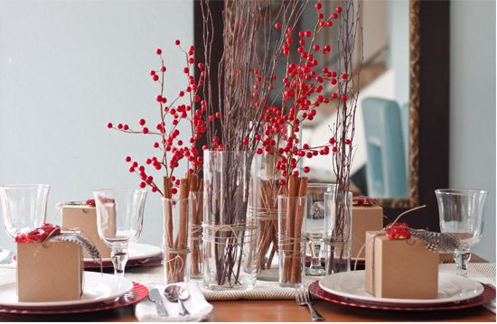 Gorgeous holiday tables