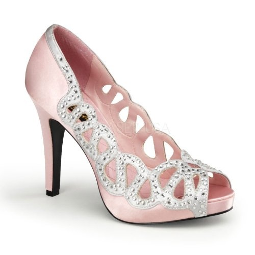 pretty pink prom shoes heels and flats