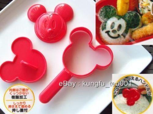 Disney Mickey Mouse Bento Rice Mashed Potato Onigiri Sushi Mold Mould ...