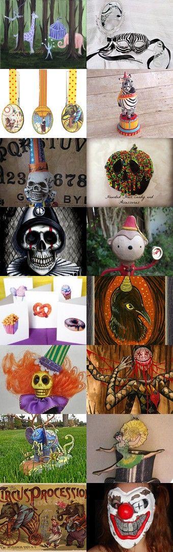 Haunted Circus HAB by TwilightFaerie on Etsy