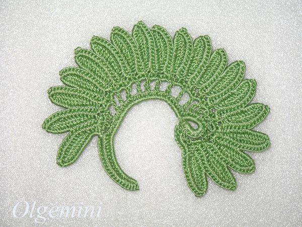 Irish Crochet : Irish Crochet Lace Motifs Pic Tutorial for this beautiful Irish ...