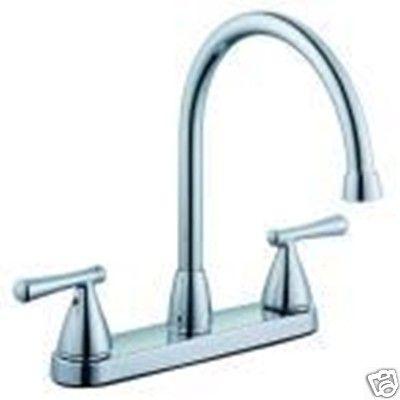 Glacier Bay Faucets : Glacier Bay BENNINGTON Kitchen Faucet 242064 CHROME 8
