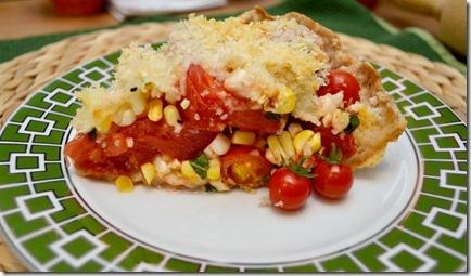 Tomato & Corn Pie...YUM! | Side Dishes | Pinterest