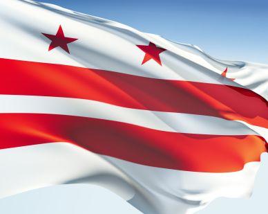 flag washington dc