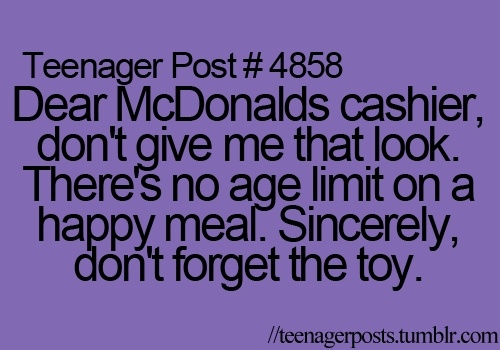 I love Happy Meals funny-stuff