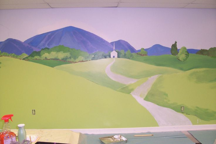 mountain wall mural | Inspiration for life Images | Pinterest