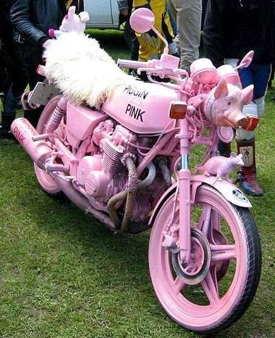 девчушки мотоцикле девушке