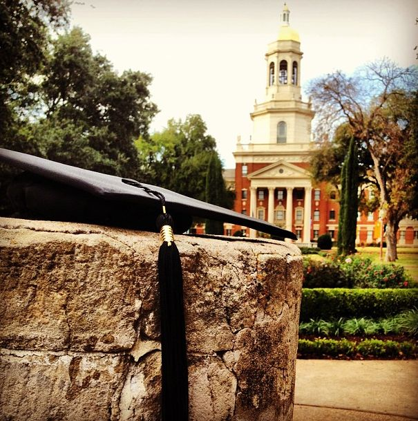 Congrats to all our December 2013 #Baylor graduates! #SicEm (photo via colinlpowell on Instagram)
