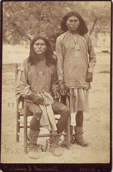 Shackled Apache Prisoners