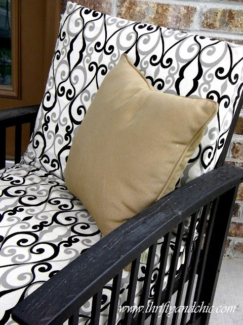 recovering patio furniture
