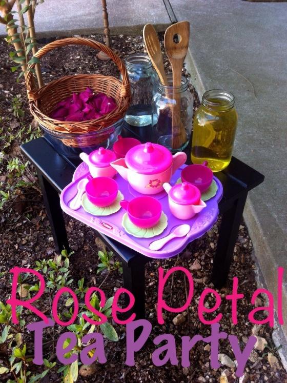 Rose Petal Tea Party   For the Kiddies   Pinterest