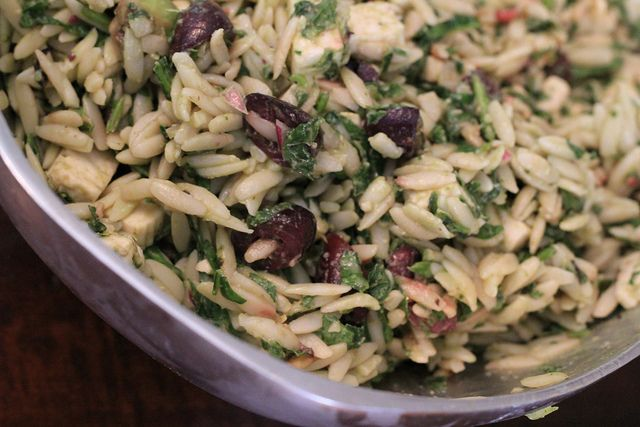 Spinach feta orzo salad with avocado | Delicious Bites and Yummy Sips ...
