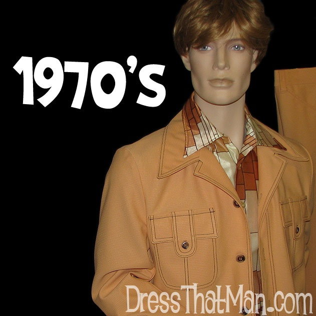 funky 1970s mens vintage suits polyester 70 s fashion pinterest