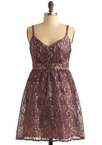 Purple Sways Dress