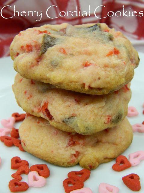 Chocolate Cherry Cordial Cookies | Food: Cookies | Pinterest