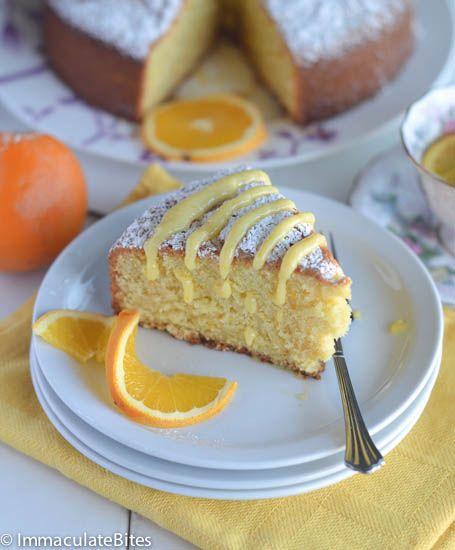 Orange Almond Butter Cake   Recipes   Pinterest